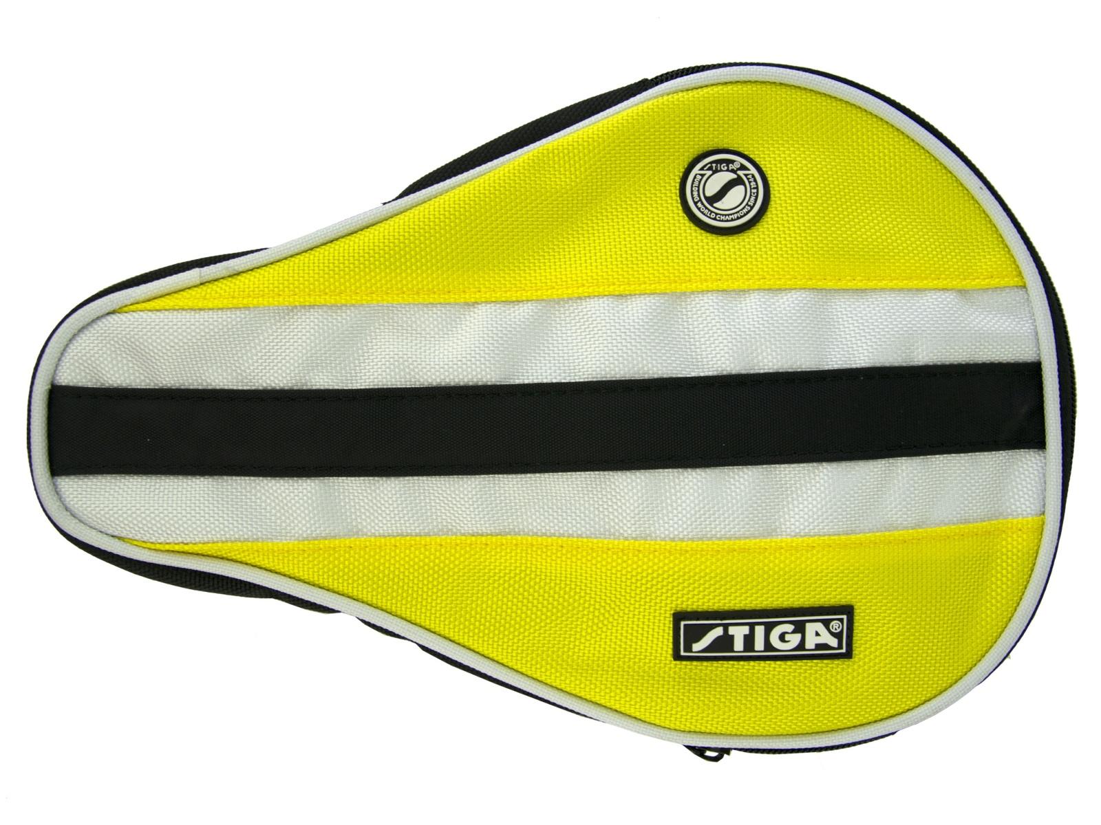 Obal na pálku na stolní tenis STIGA Batcover žlutá