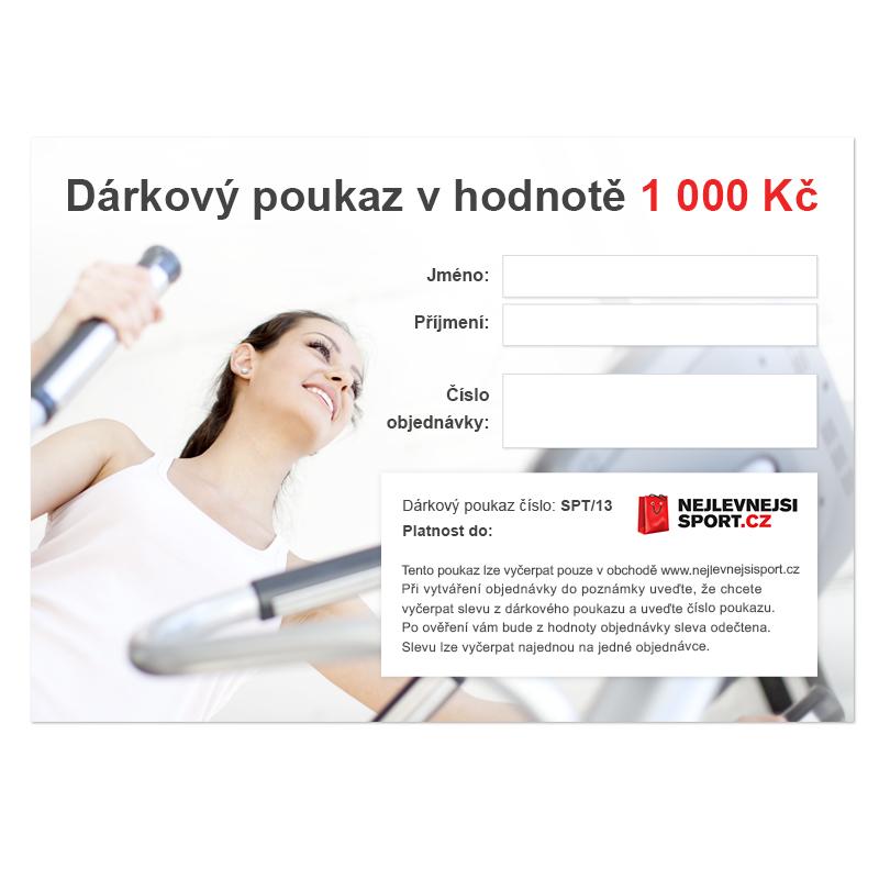 Dárkový poukaz - 1.000 Kč