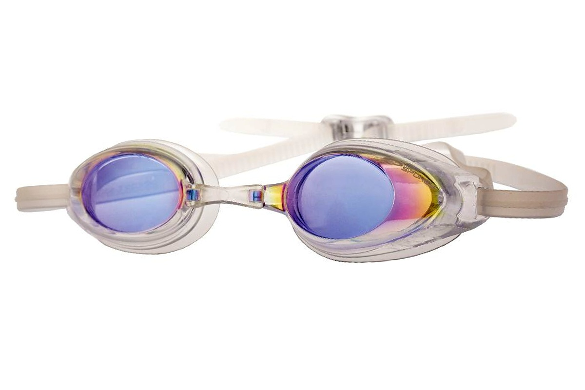 Plavecké brýle SPOKEY Protrainer - bílé