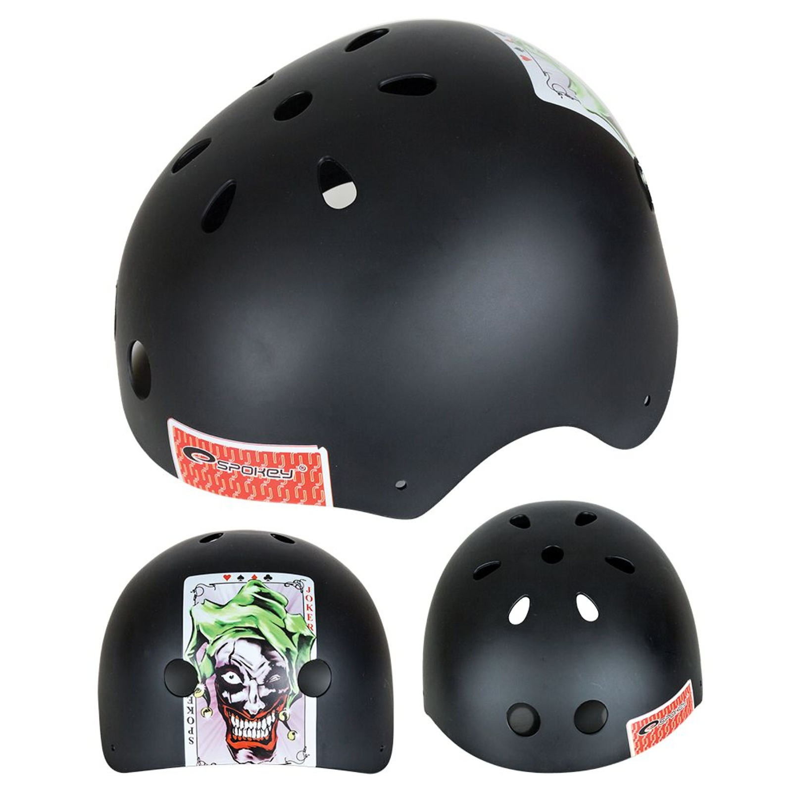 Helma na skateboard SPOKEY Joker - L
