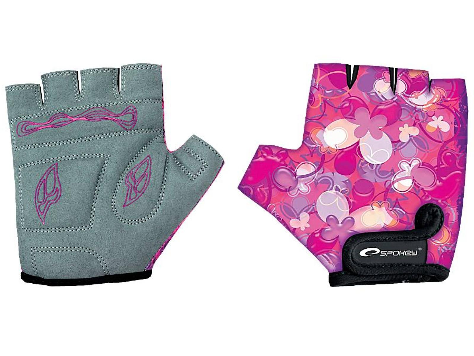 Cyklo rukavice SPOKEY Lucky Glove dětské - XS