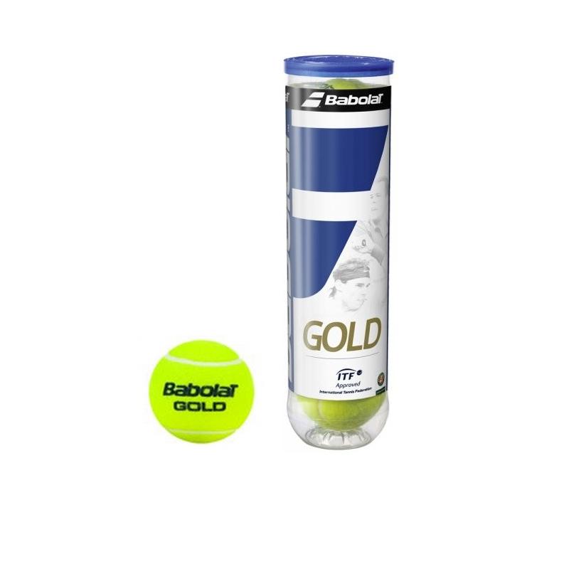 Tenisové míčky BABOLAT Gold 4 ks