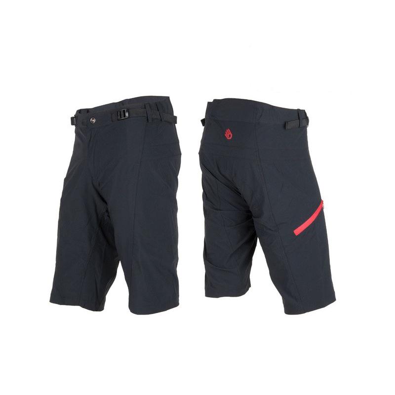 Kalhoty SENSOR Helium pánské černá/červená XXL