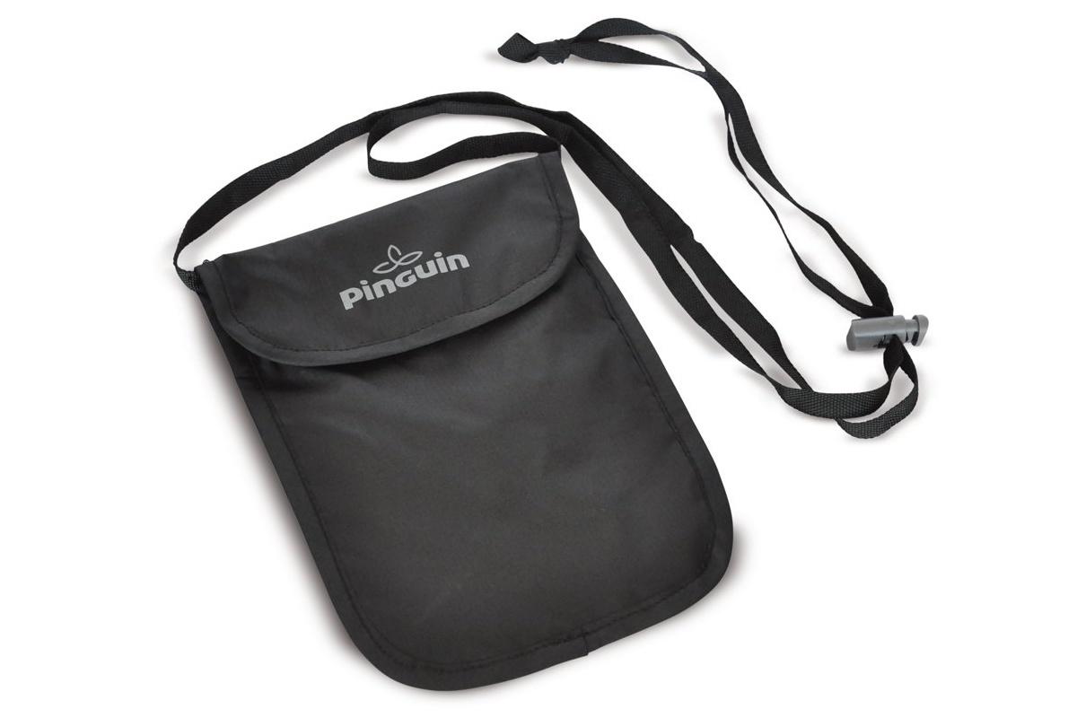 Kapsa na krk PINGUIN Neck security pocket S černá
