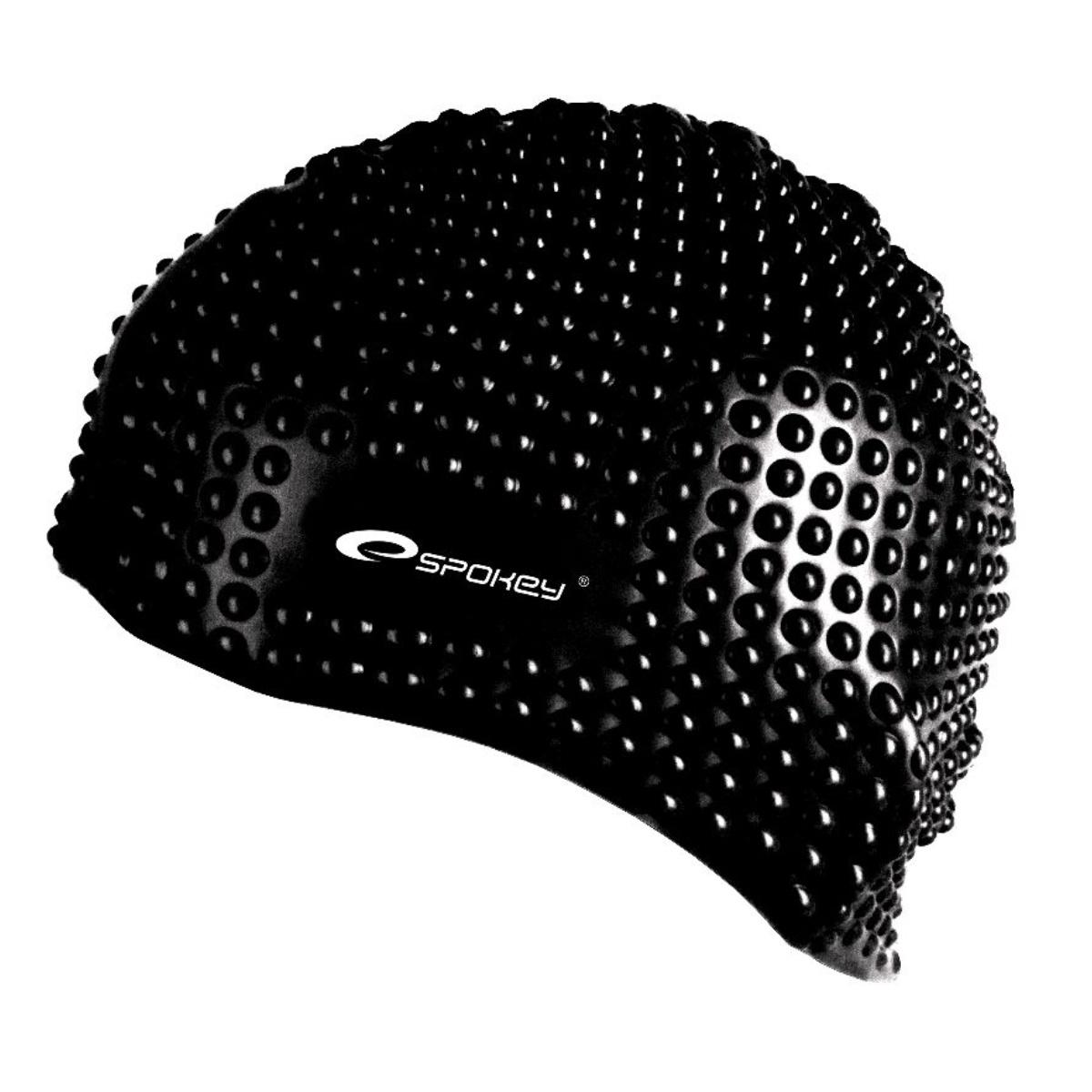 Plavecká čepice SPOKEY Belbin - černá