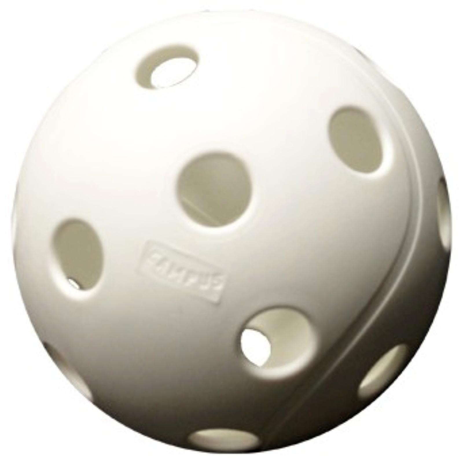 Florbalový míček SALMING X3M Campus Ball bílé, 10 ks