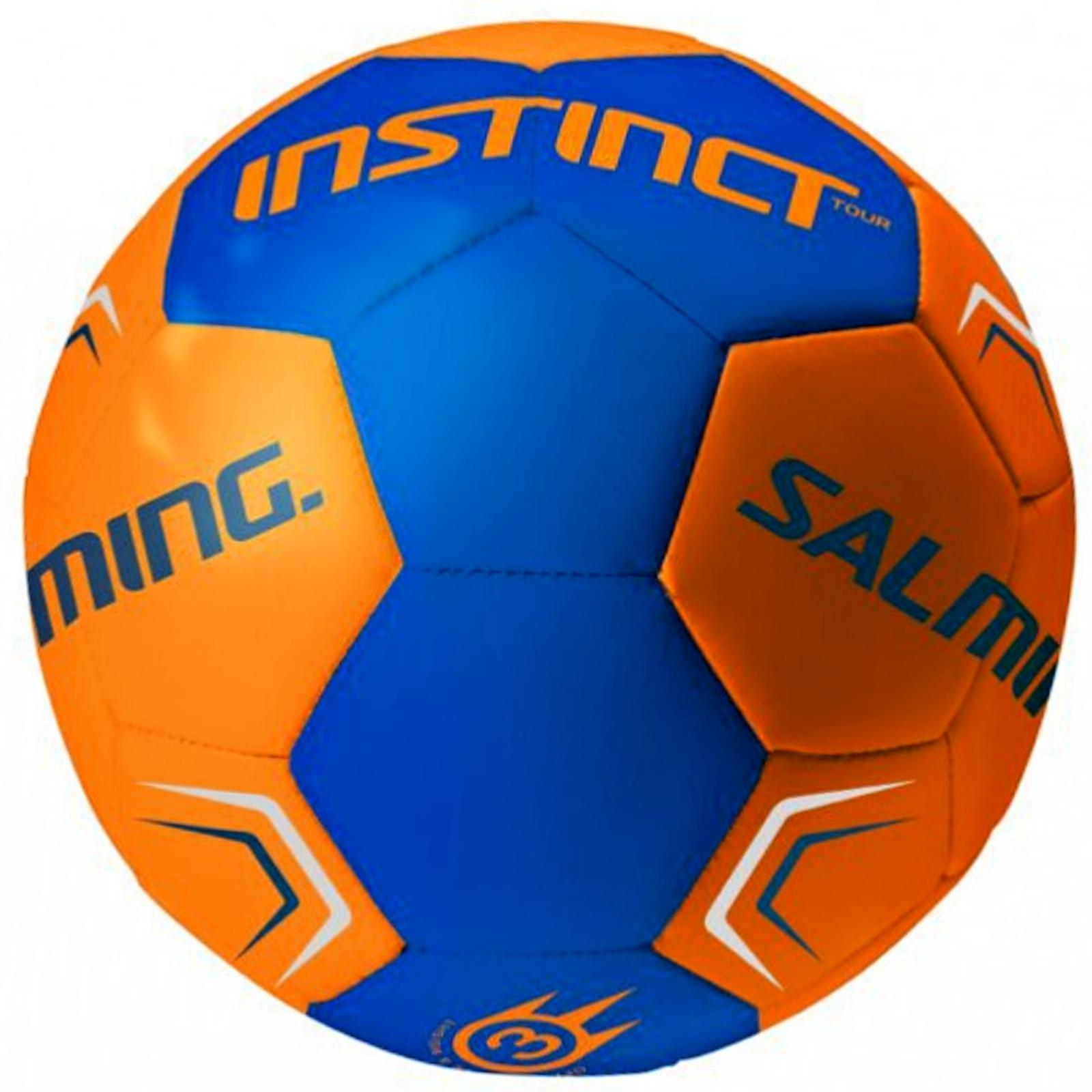 Míč házená SALMING Instinct Tour Handball 3, oranžovo-modrý
