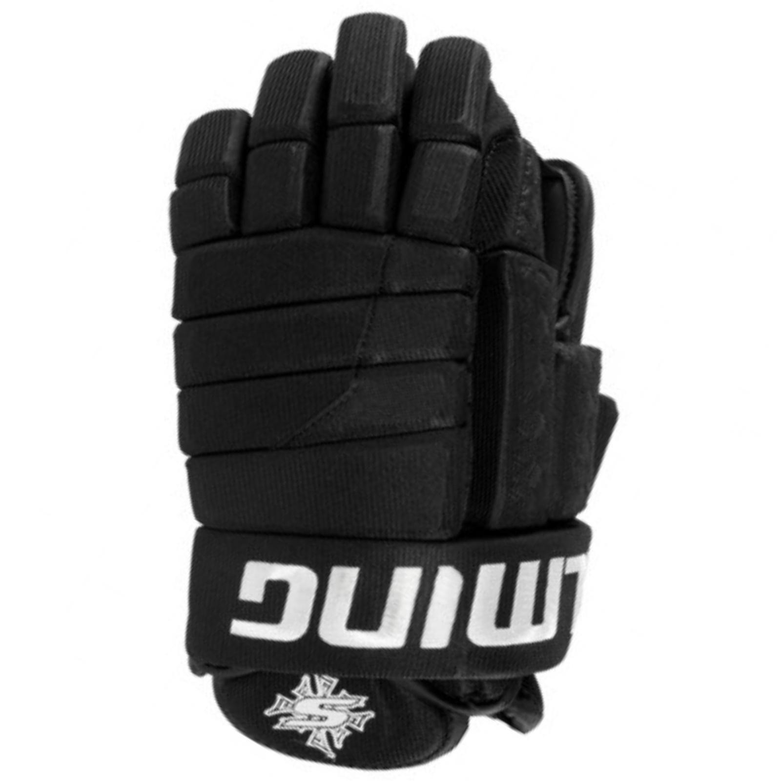 Hokejové rukavice SALMING Glove M11 - černé vel. 13''