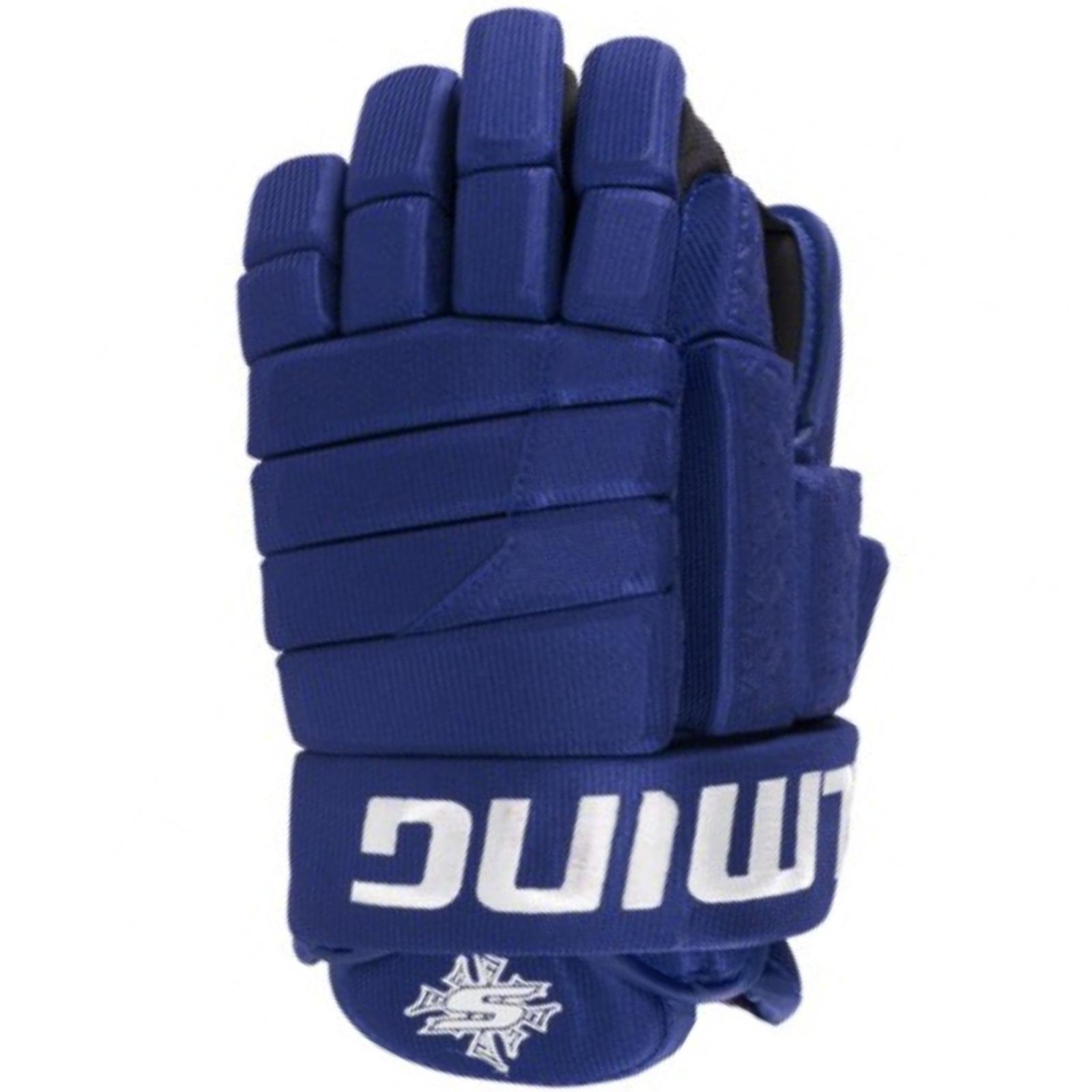 """Hokejové rukavice SALMING Glove M11 - modré vel. 12"""""""