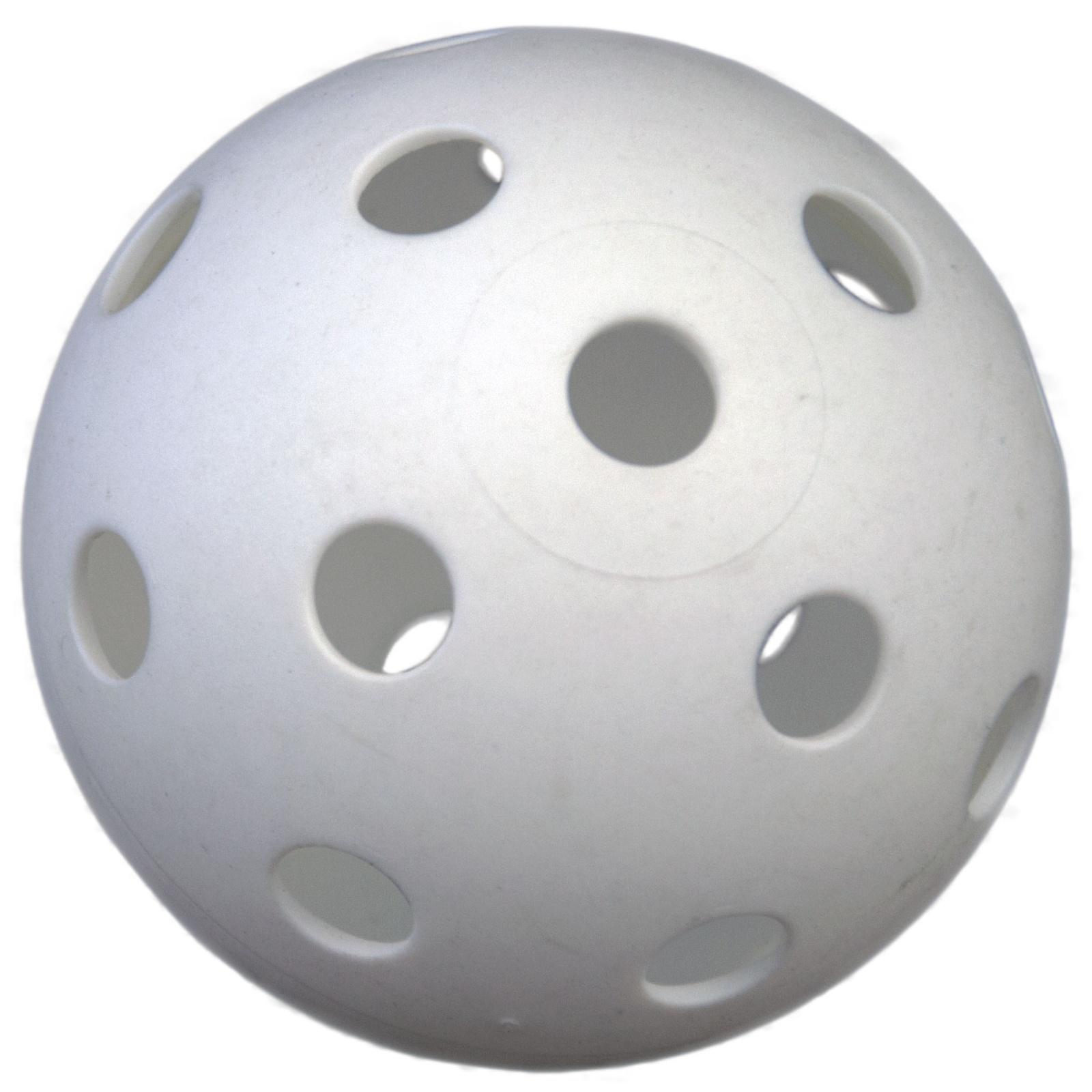 Florbalové míčky SPOKEY Sprint - 6ks, bílé