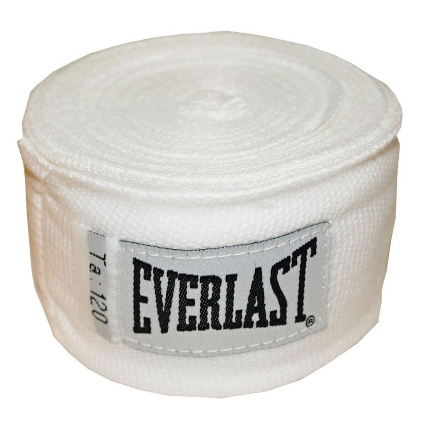 Bandáže EVERLAST 3 m bílé - poloelastické