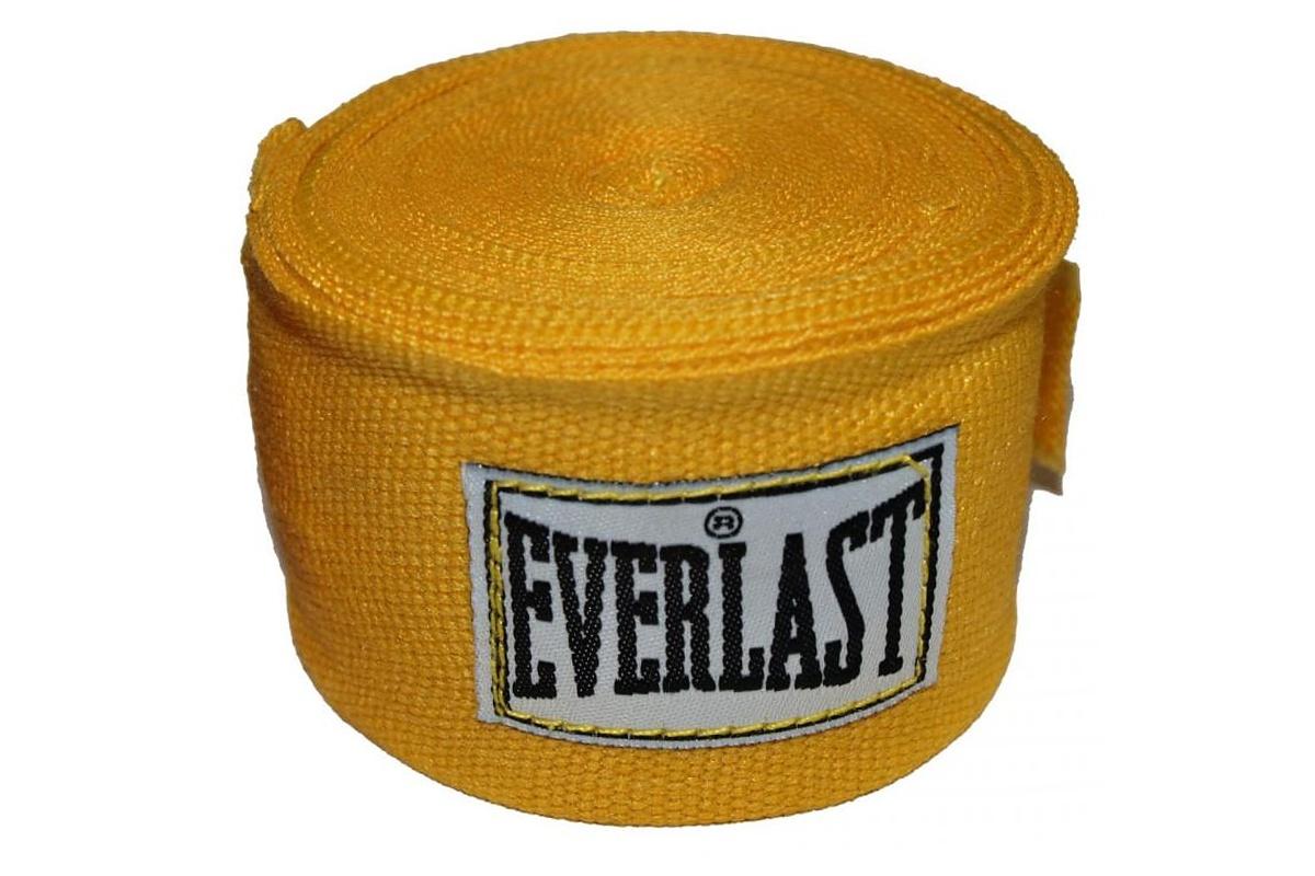 Bandáže EVERLAST 3 m žluté - poloelastické