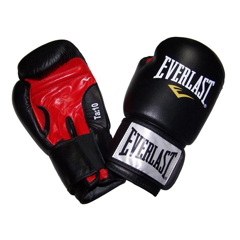 Boxerské kožené rukavice EVERLAST Moulded Ergo 10oz.