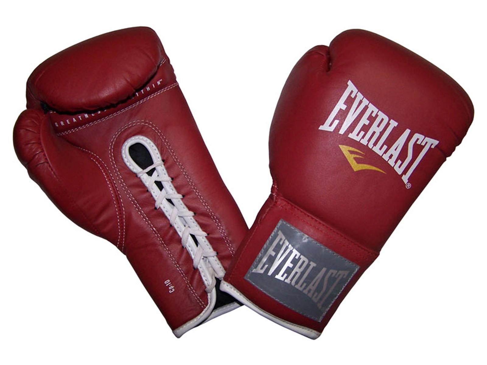Boxerské rukavice EVERLAST Pro Fighter C3 červené 10oz.