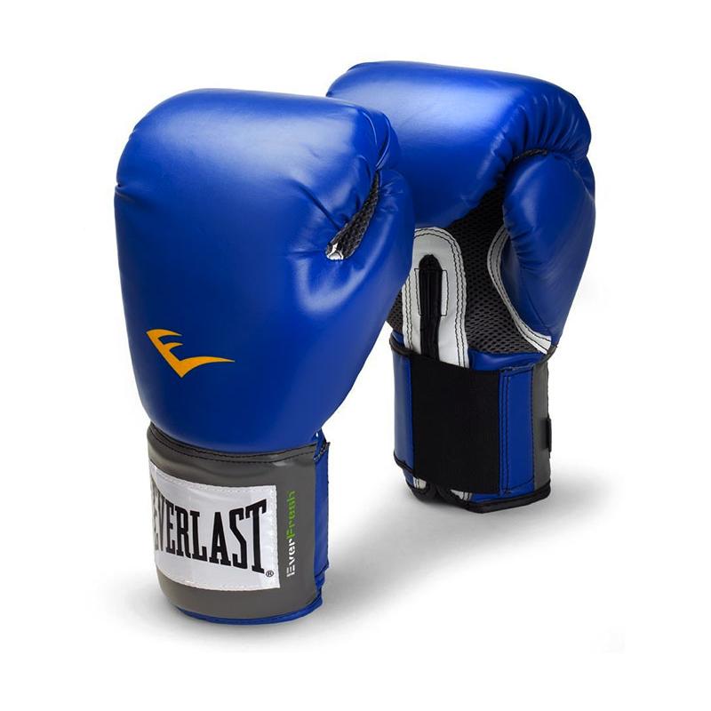 Boxerské rukavice EVERLAST Pro Style - modré 10oz.