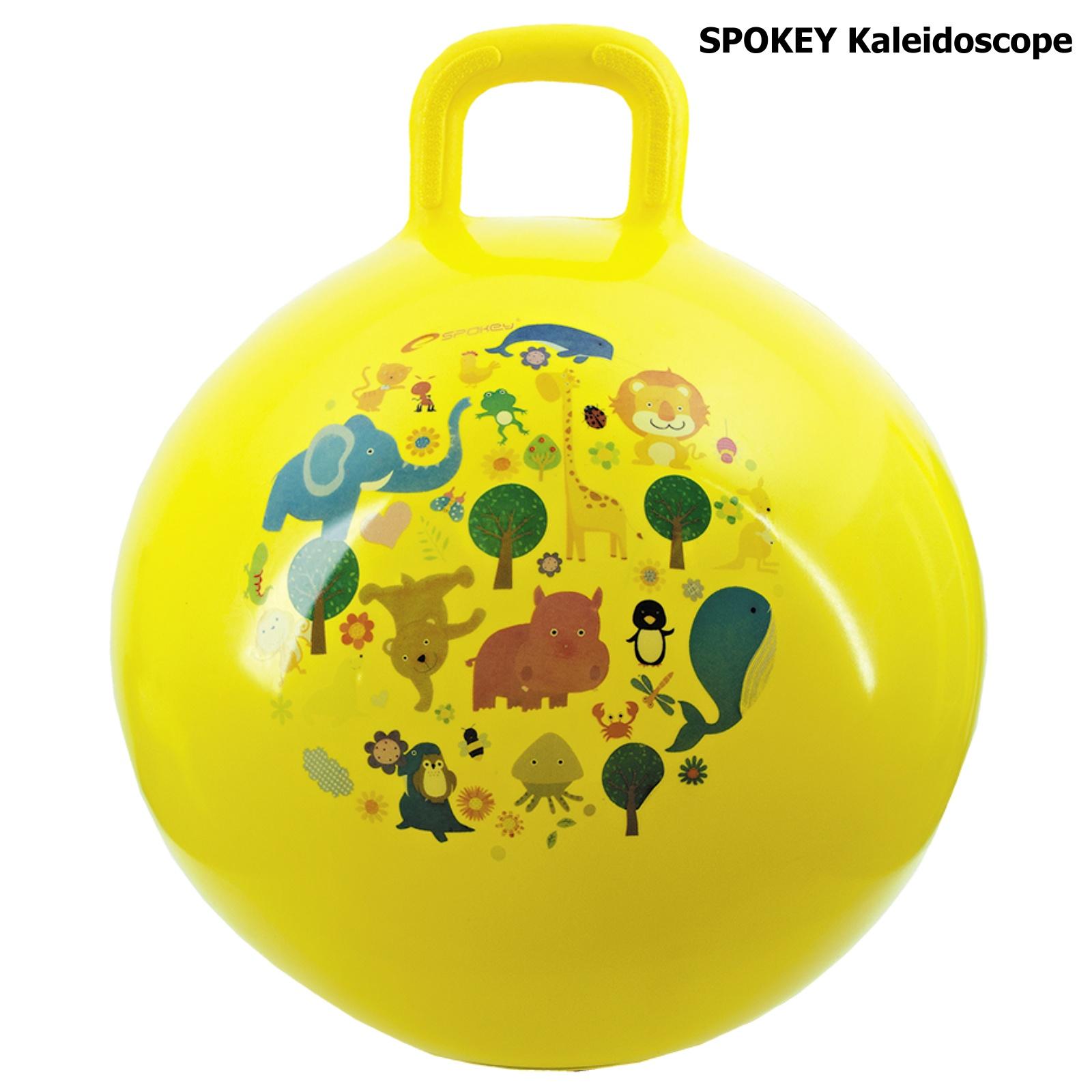 Skákací míč SPOKEY Kaleidoscope 45 cm