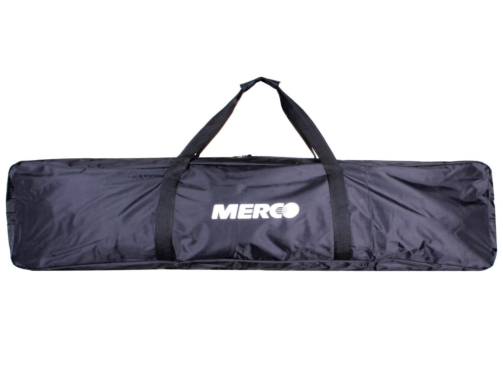 Florbalový vak MERCO FV-2 Toolbag černo-bílý