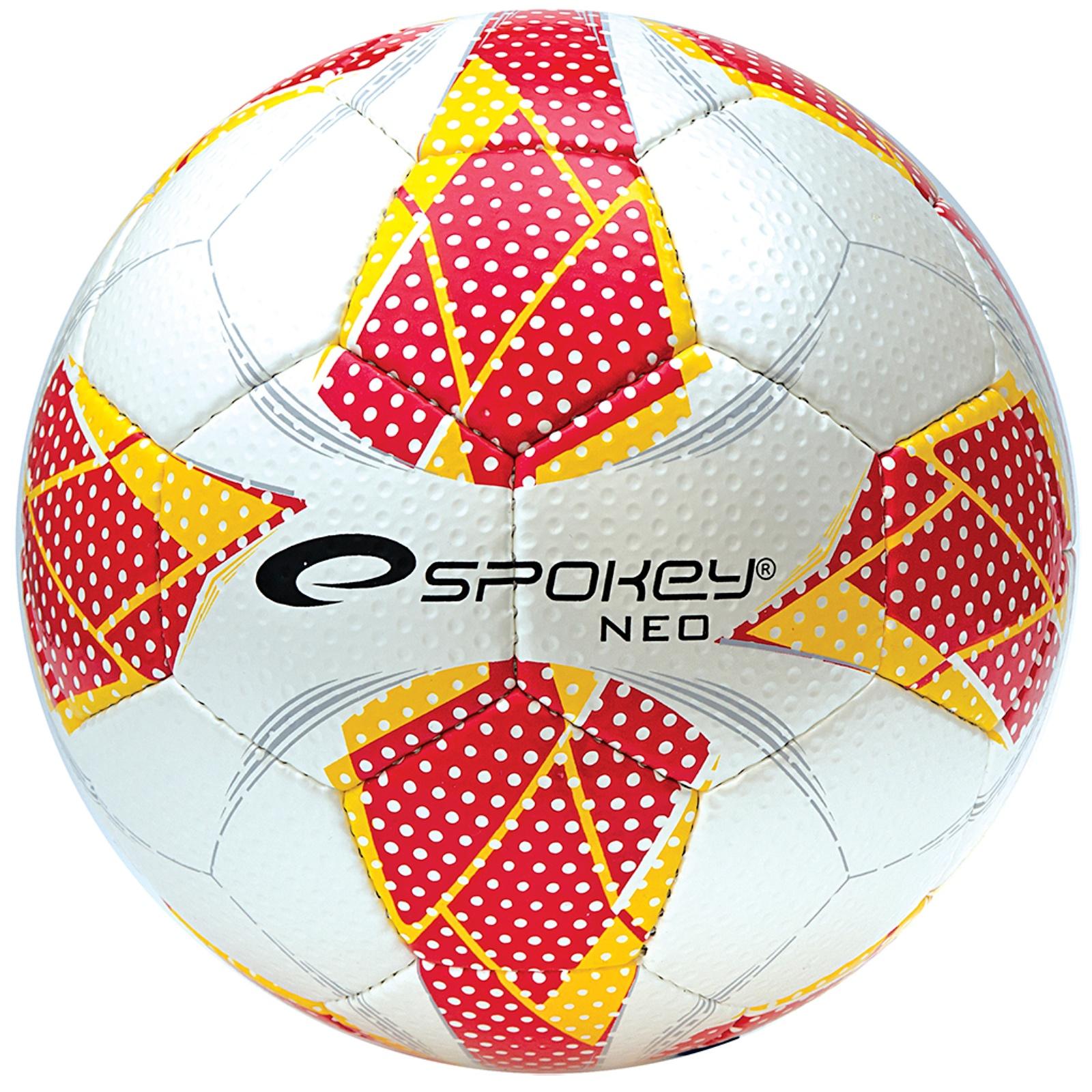 Fotbalový míč SPOKEY Neo Futsal II červený