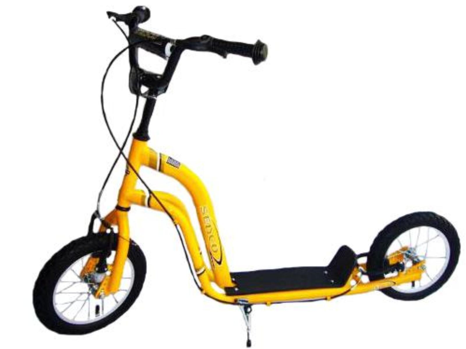 Koloběžka SEDCO City Line Sport Excelence 12 - žlutá