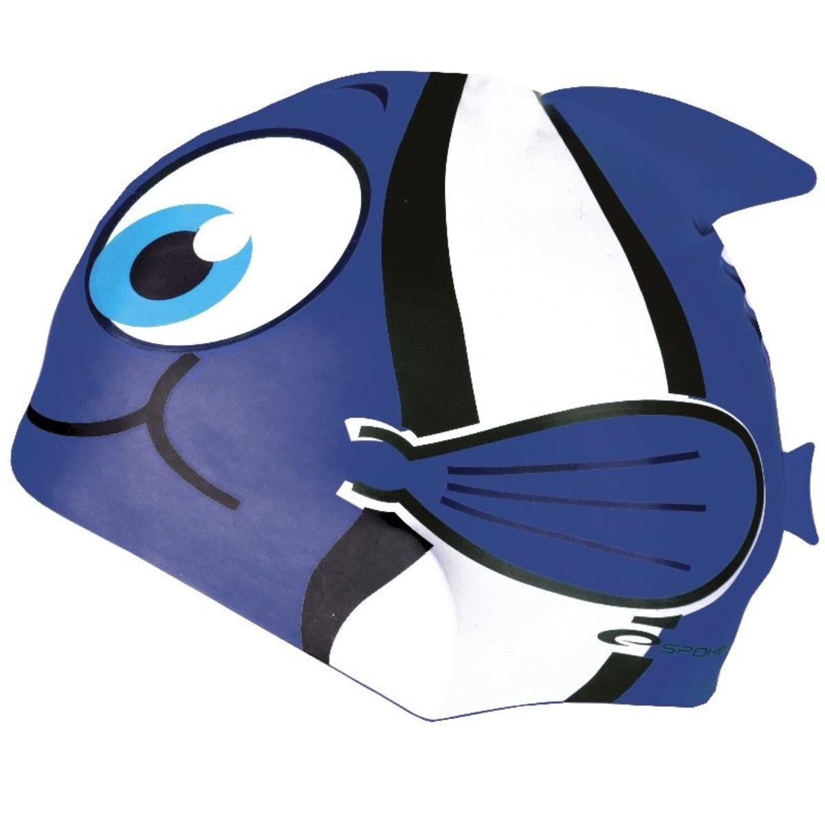 Plavecká čepice SPOKEY Rybka - modrá