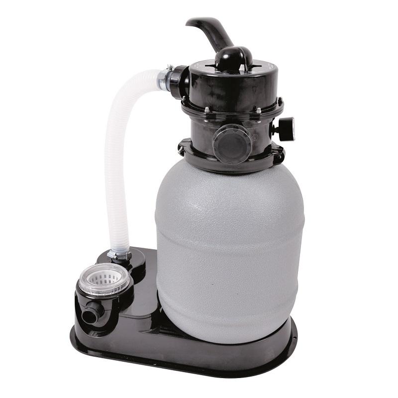 Písková filtrace s průtokem 2.271 l/h