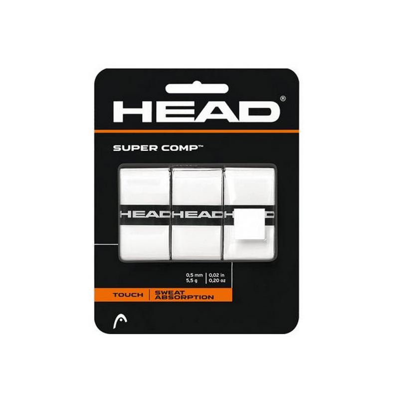 Tenisová omotávka HEAD Super Comp - bílá