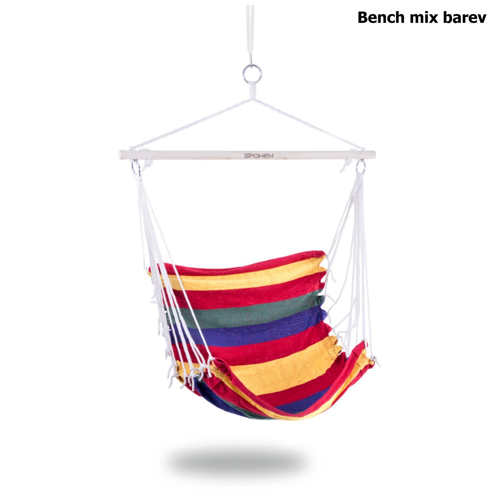 Houpací sedačka SPOKEY Bench mix barev