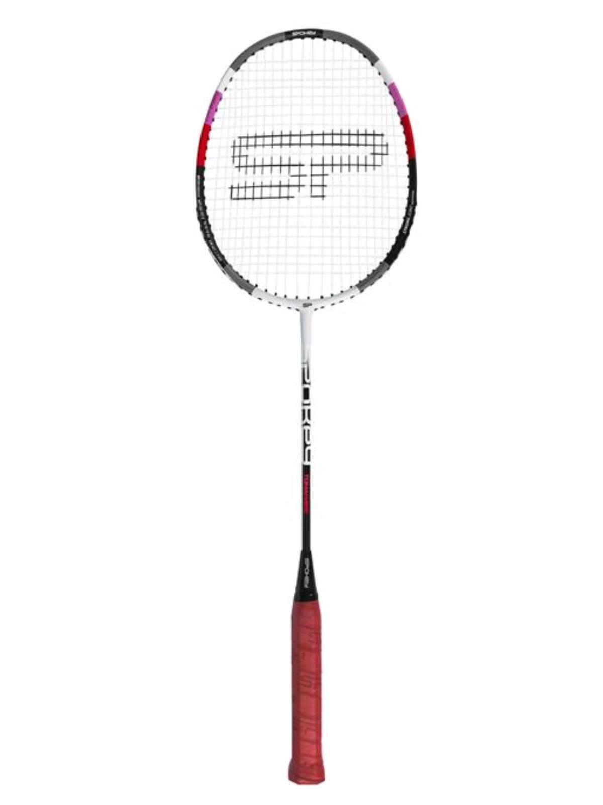 Badmintonová raketa SPOKEY Tomahawk II červená