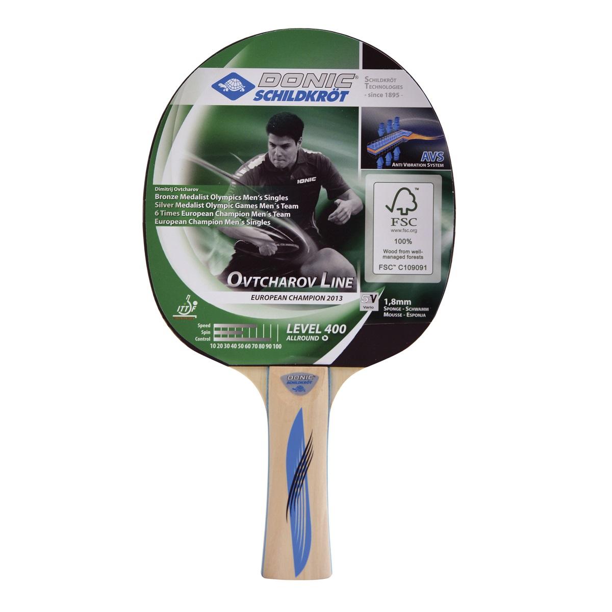 Pálka na stolní tenis DONIC Ovtcharov 400