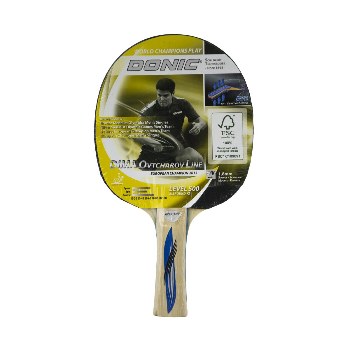 Pálka na stolní tenis DONIC Ovtcharov 500