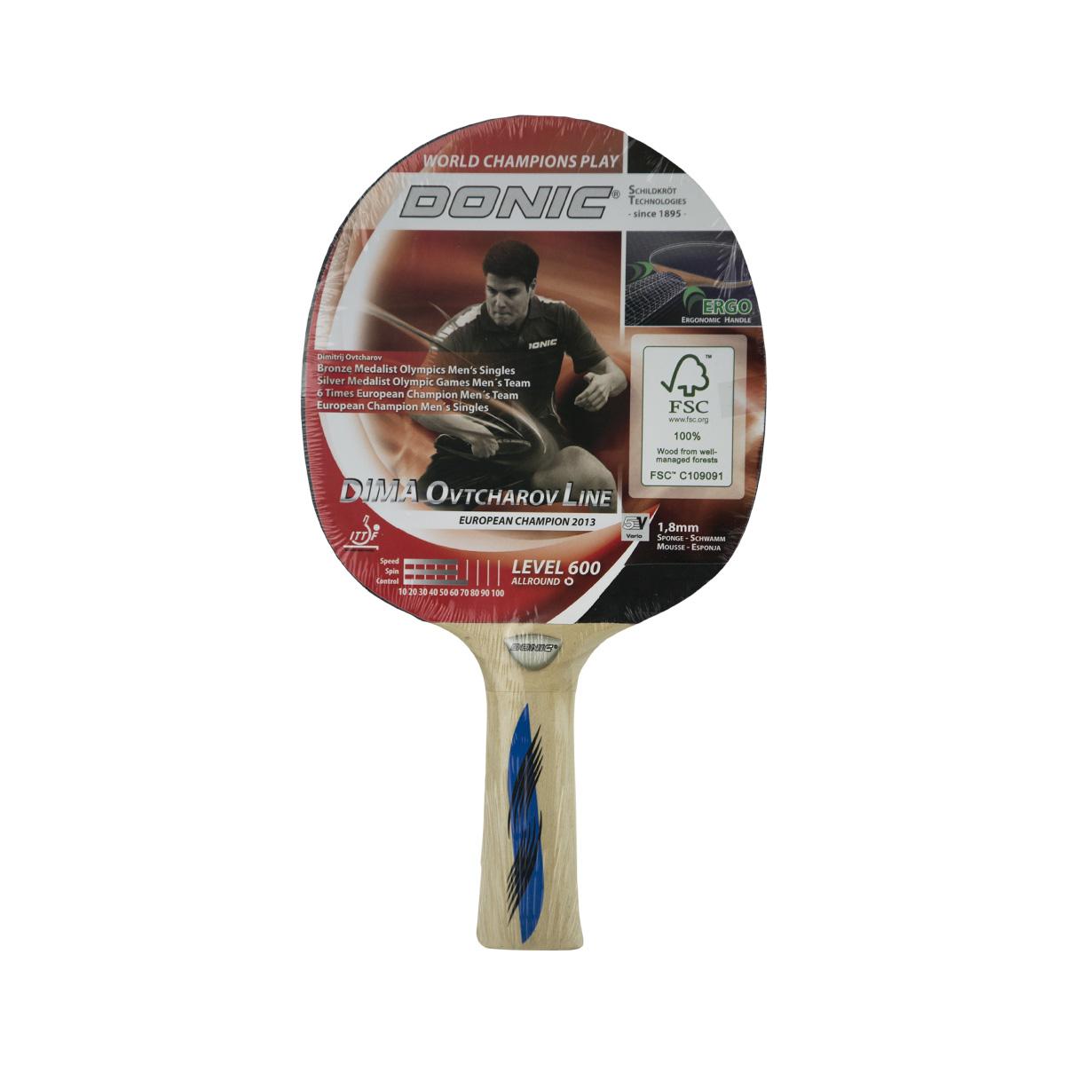 Pálka na stolní tenis DONIC Ovtcharov 600
