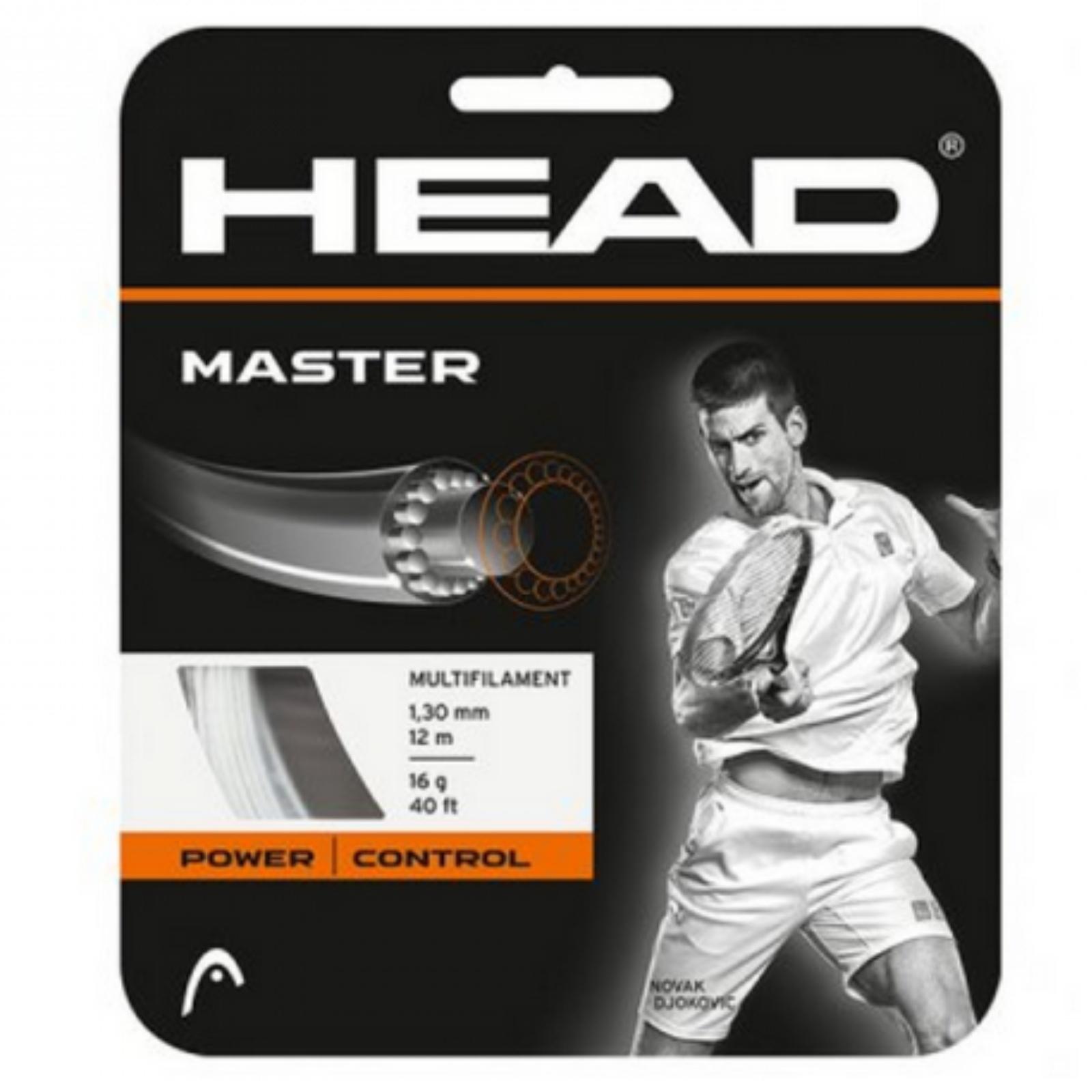 Tenisový výplet HEAD Master 15g 1.40 mm natural