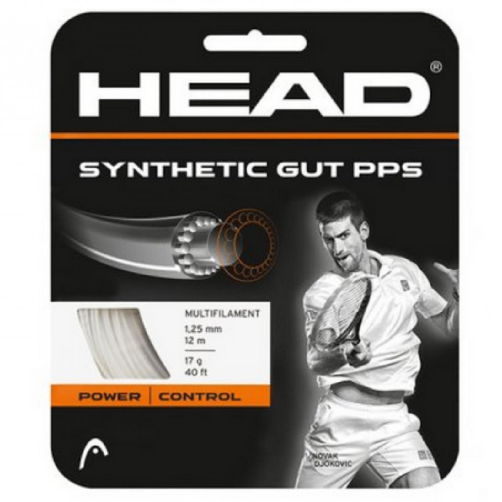 Tenisový výplet HEAD Synthetic Gut PPS 16g 1.30 mm zlatý