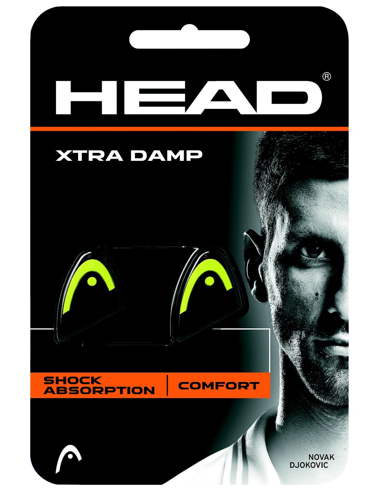 Tlumič vibrací HEAD Xtra Damp žluto-černý
