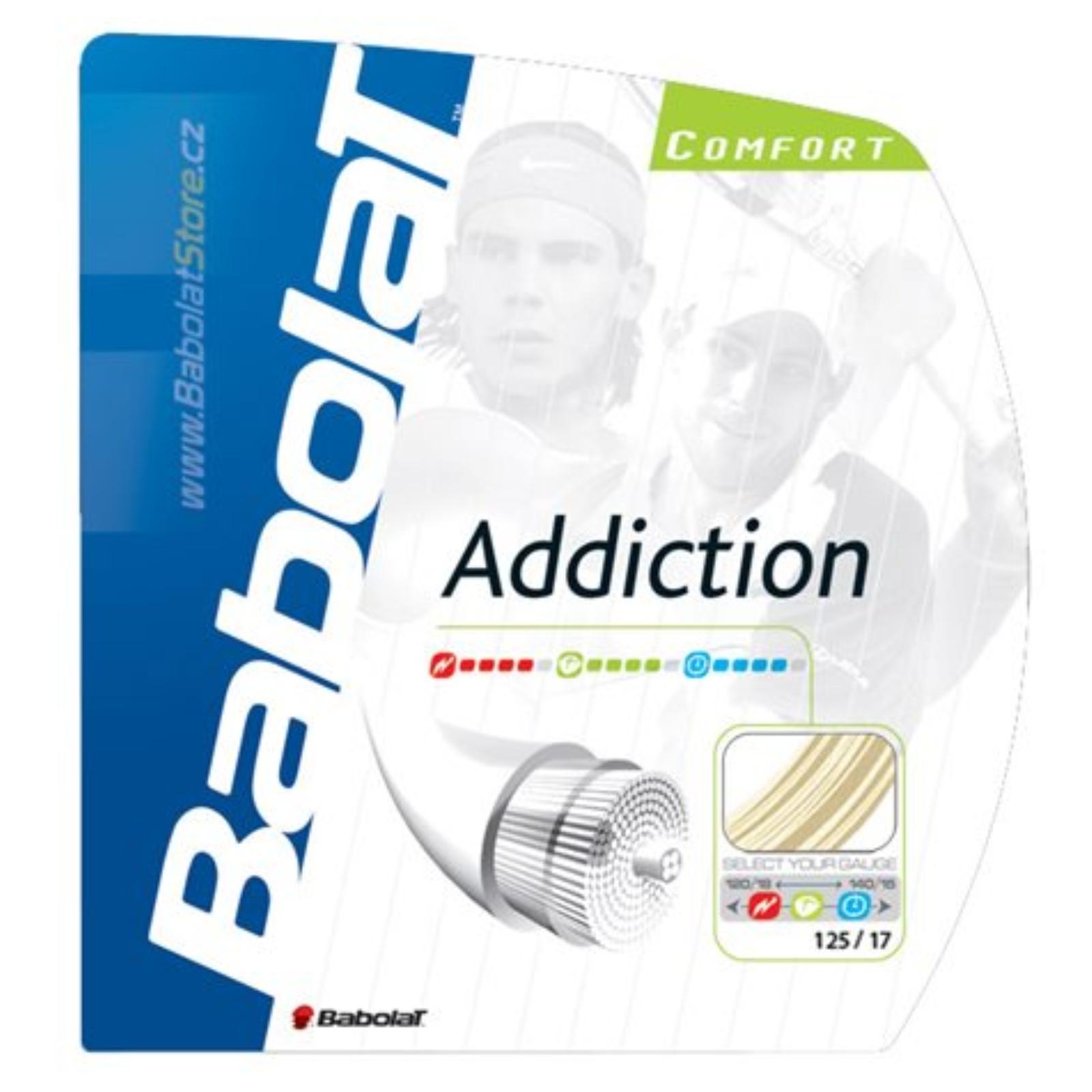 Tenisový výplet BABOLAT Addiction 12m 1,25