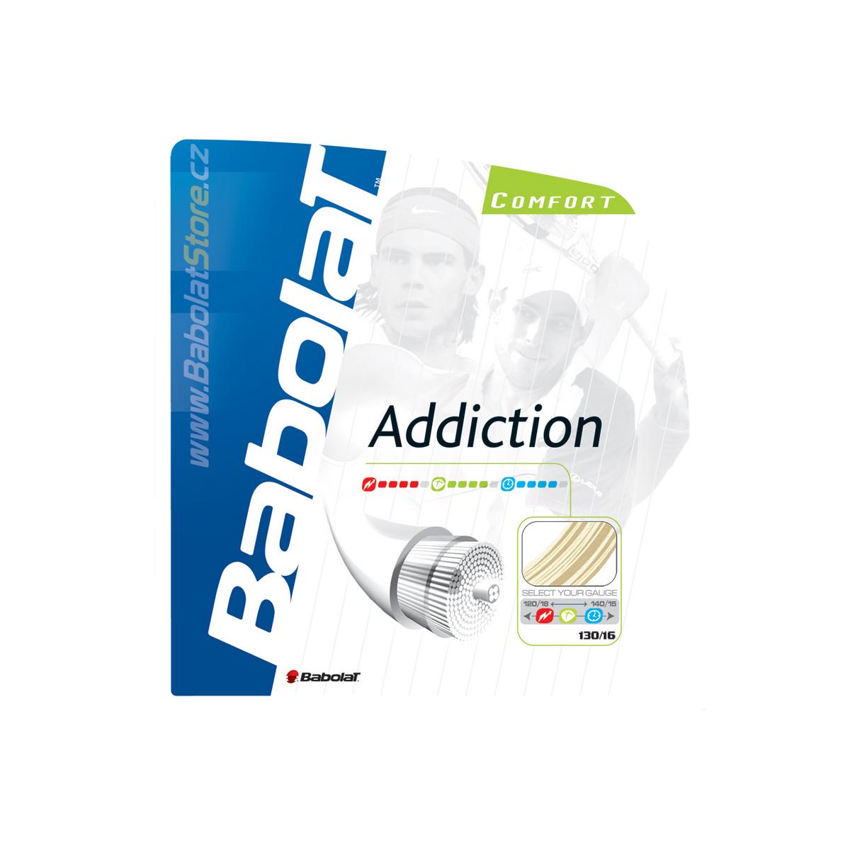 Tenisový výplet BABOLAT Addiction 12m 1,30