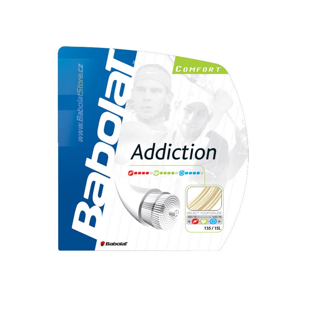 Tenisový výplet BABOLAT Addiction 12m 1,35