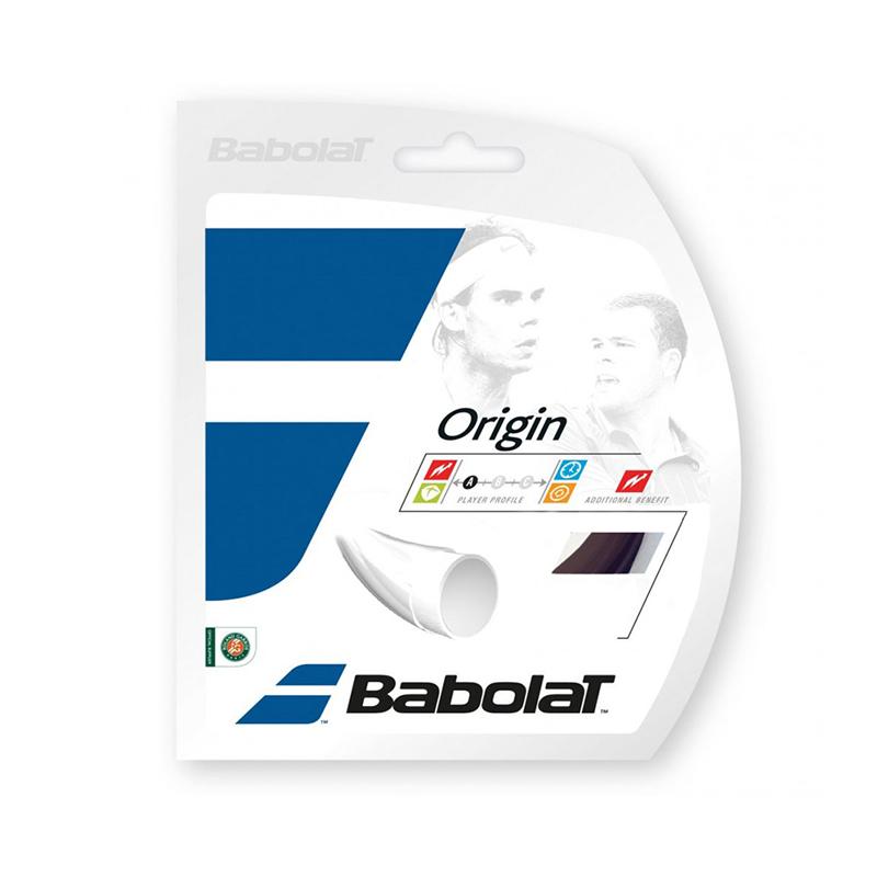 Tenisový výplet BABOLAT Origin 12m 1,25 černý