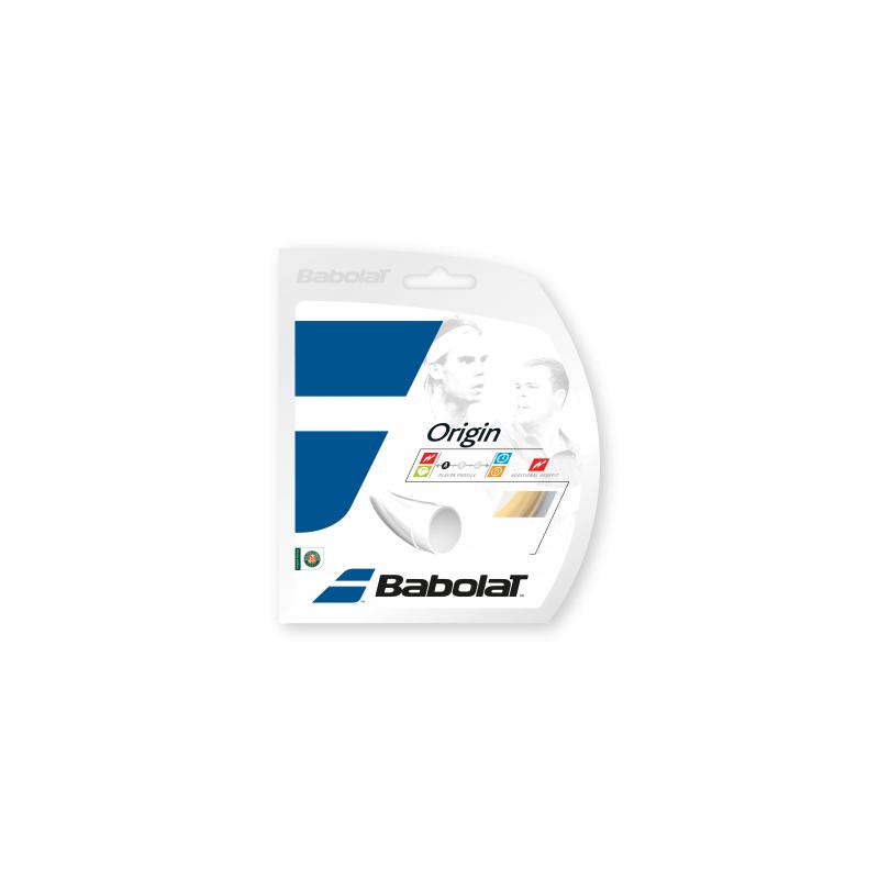 Tenisový výplet BABOLAT Origin 12m 1,30 natural