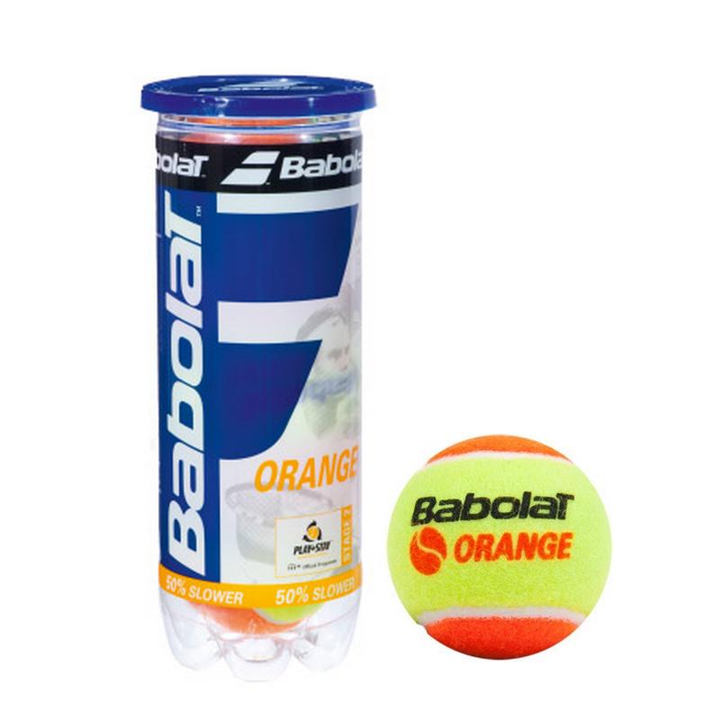 Dětské tenisové míčky BABOLAT Orange 3 ks