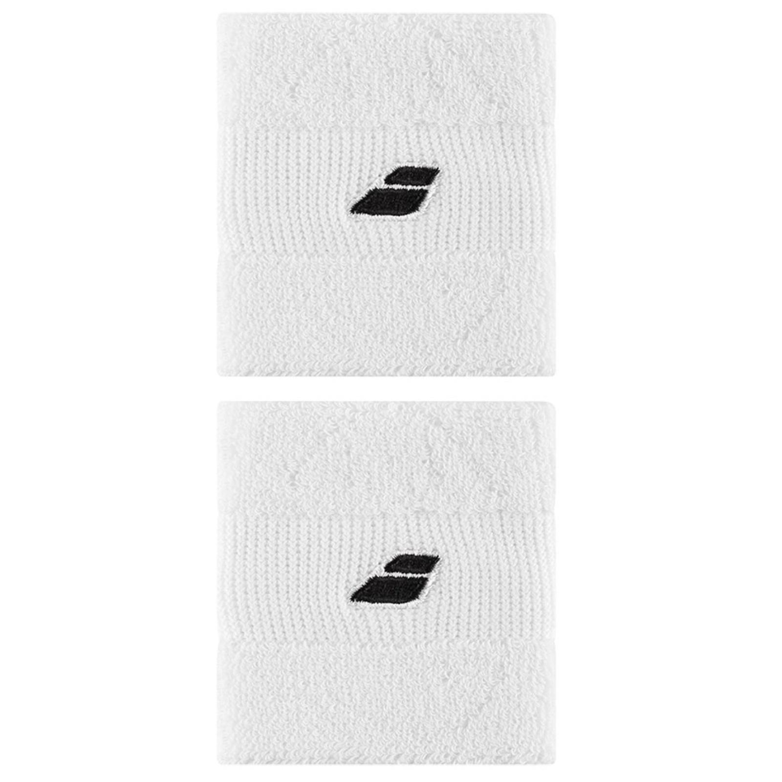 Potítko BABOLAT Wristband X2 bílé