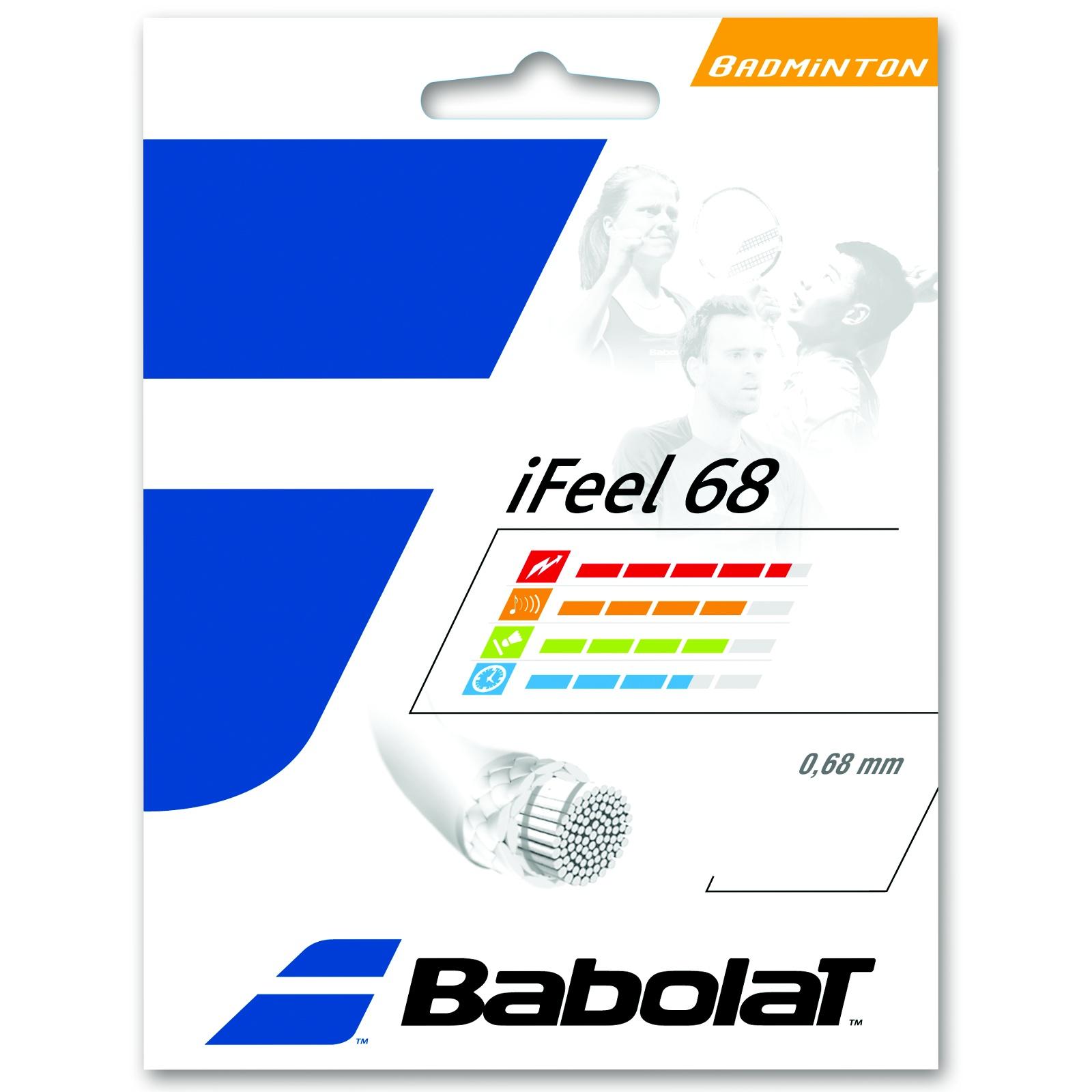 Badmintonový výplet BABOLAT iFeel 68 žlutý