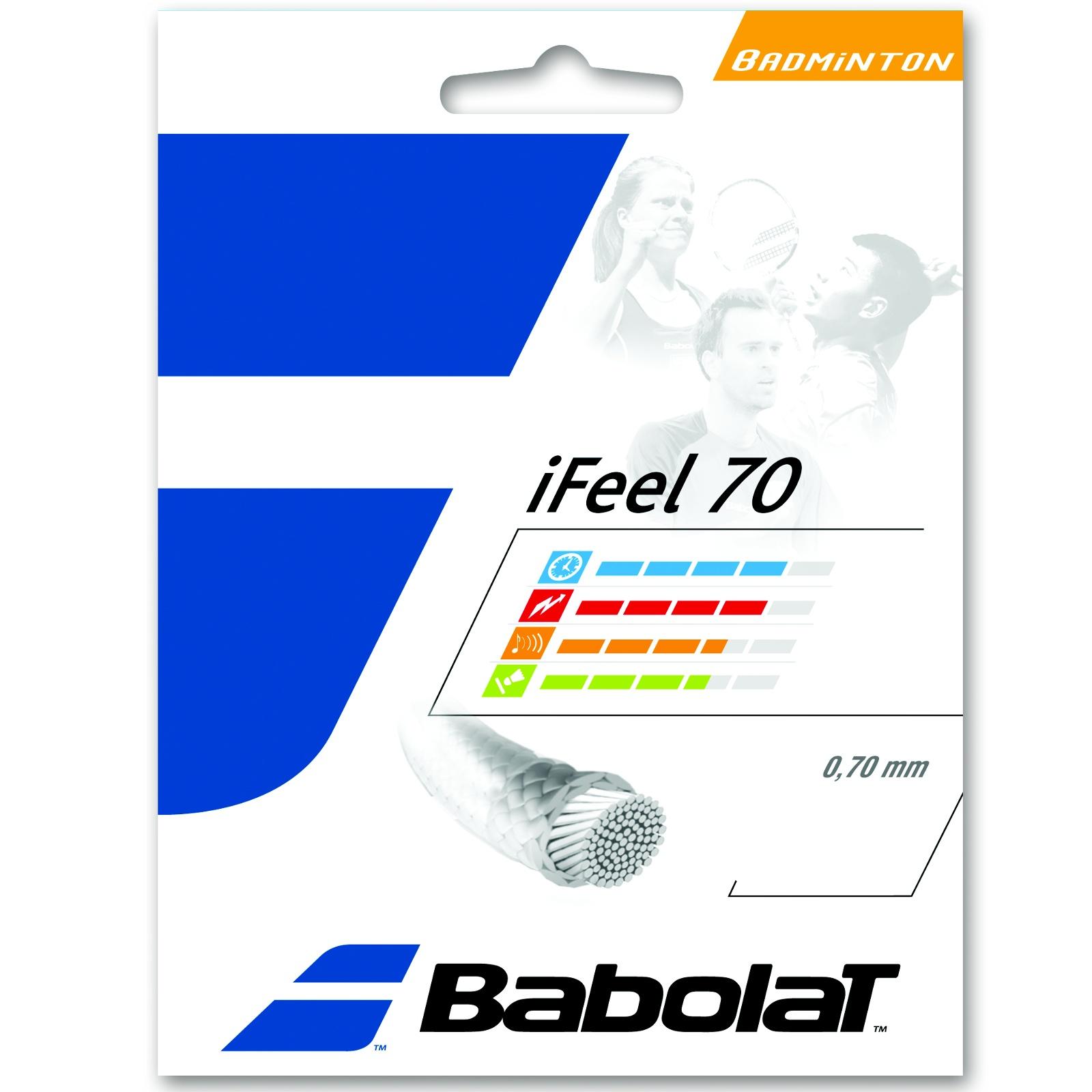 Badmintonový výplet BABOLAT iFeel 70 žlutý