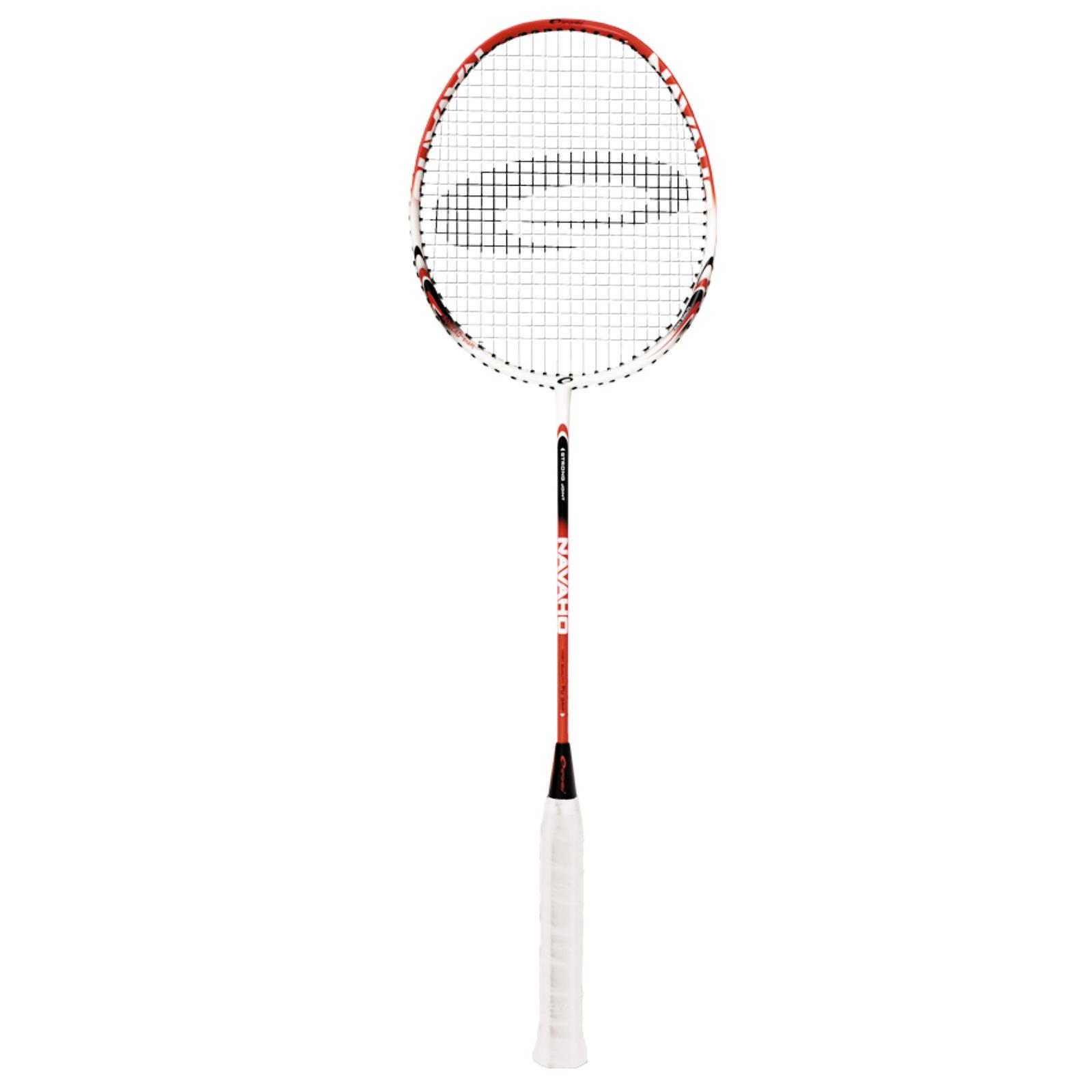 Badmintonová raketa SPOKEY Navaho červeno-bílá