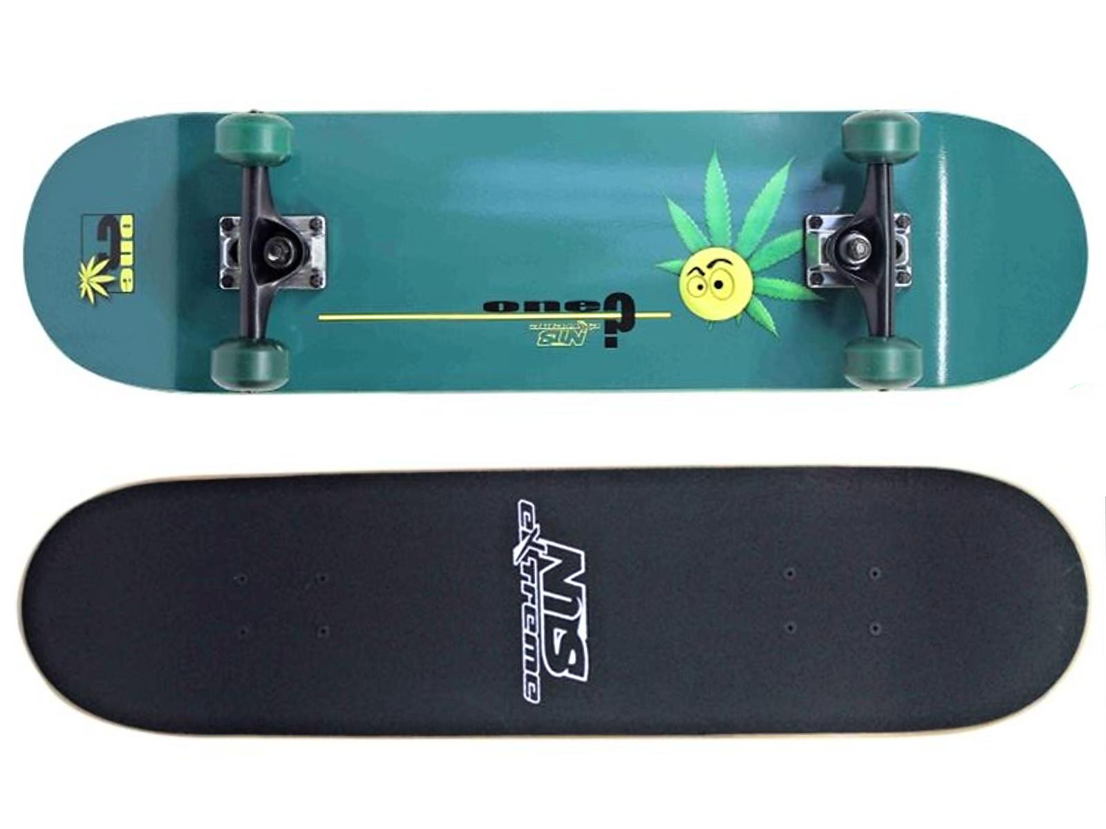 Skateboard NILS Extreme GF 3108 A - zelený