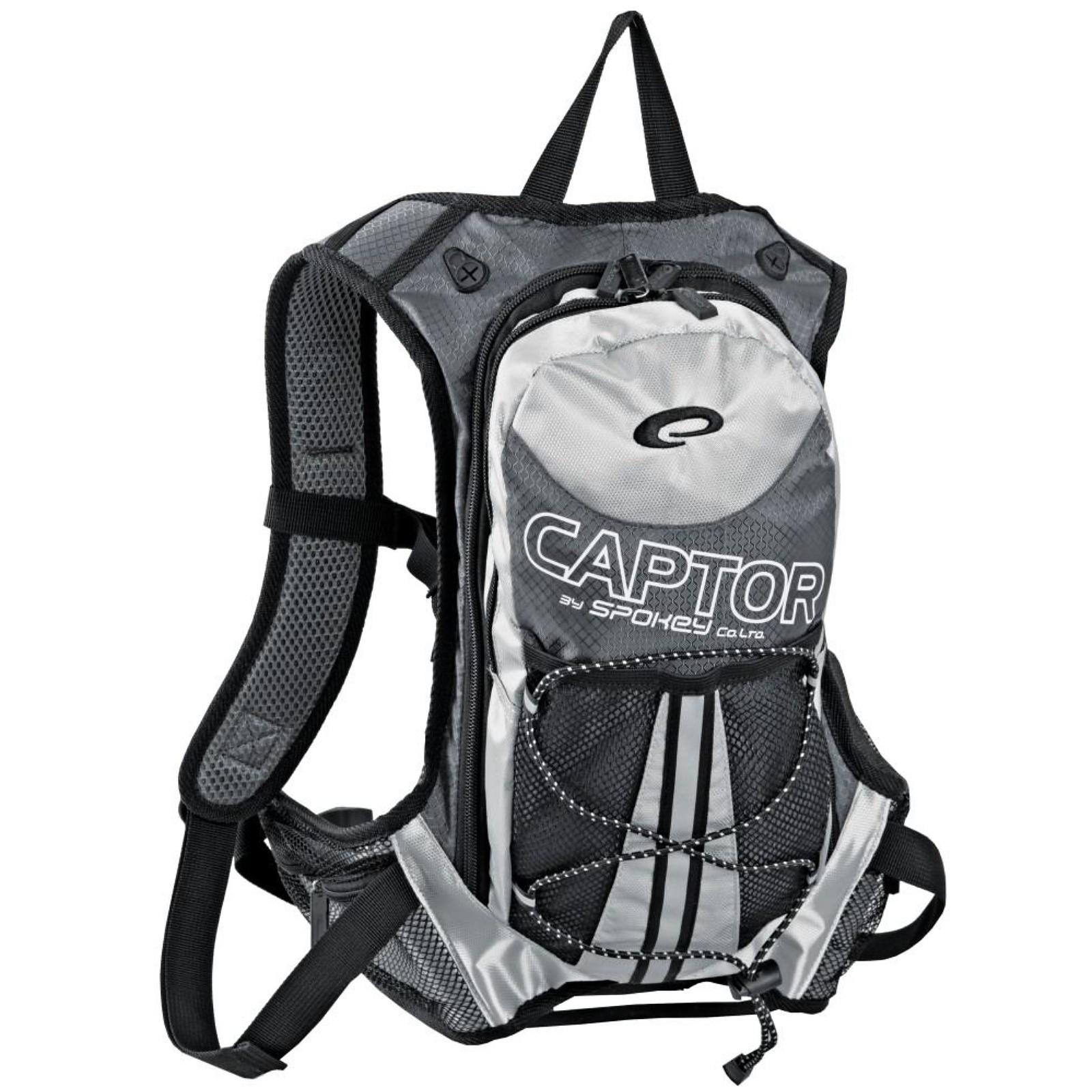 Batoh SPOKEY Captor 2L šedý/stříbrný, cyklistický