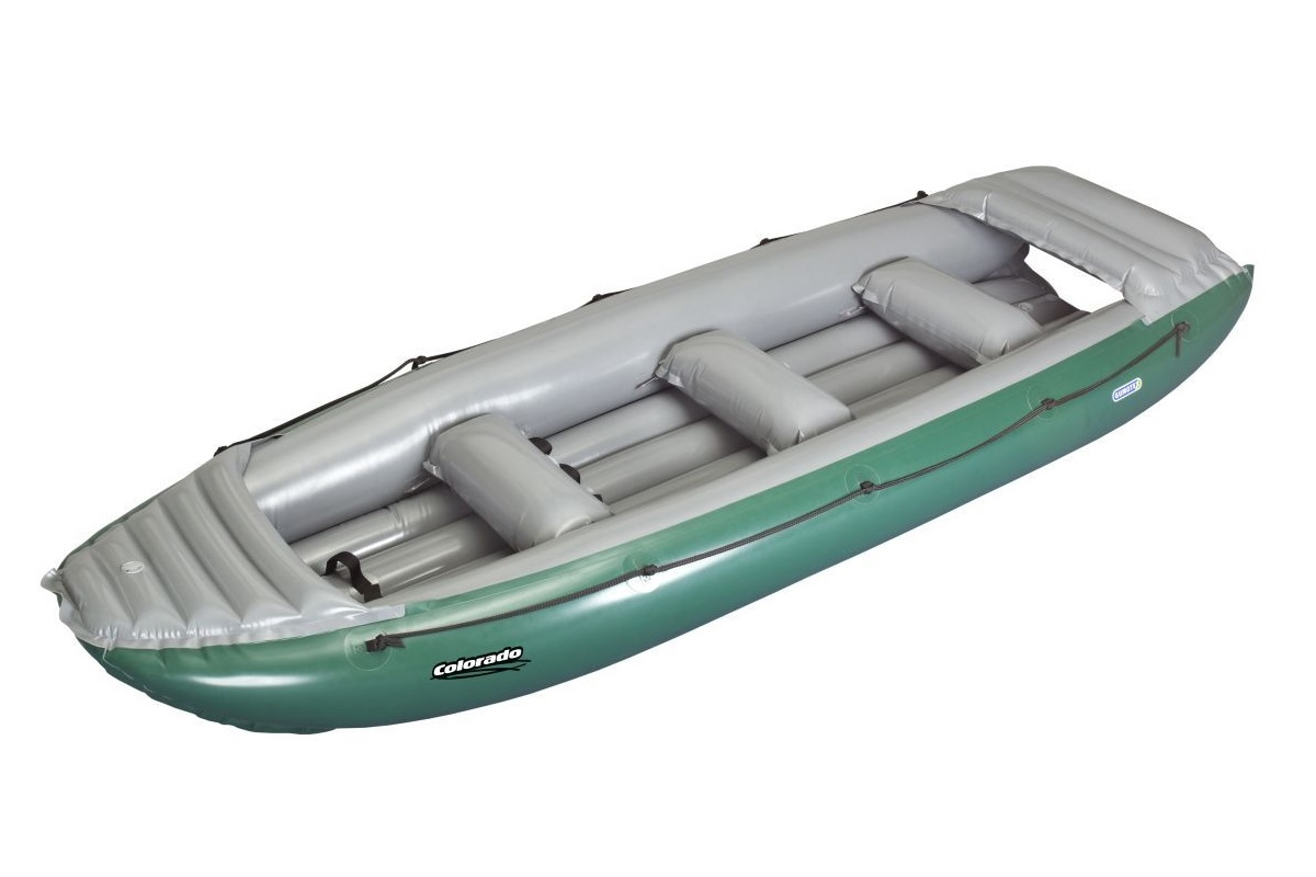 Nafukovací člun GUMOTEX Colorado 450 - SET - zeleno-šedá