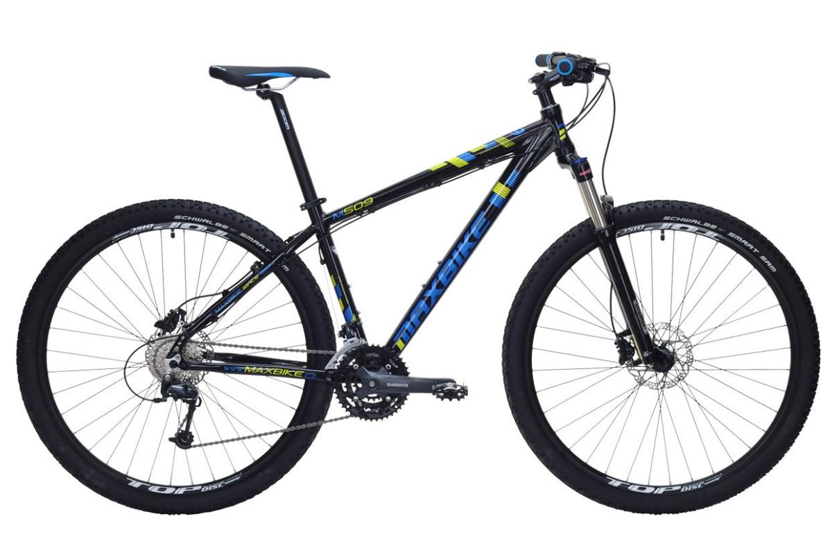 """Horské kolo MAXBIKE Taupo 29 2016 velikost rámu 17"""" - bílé"""