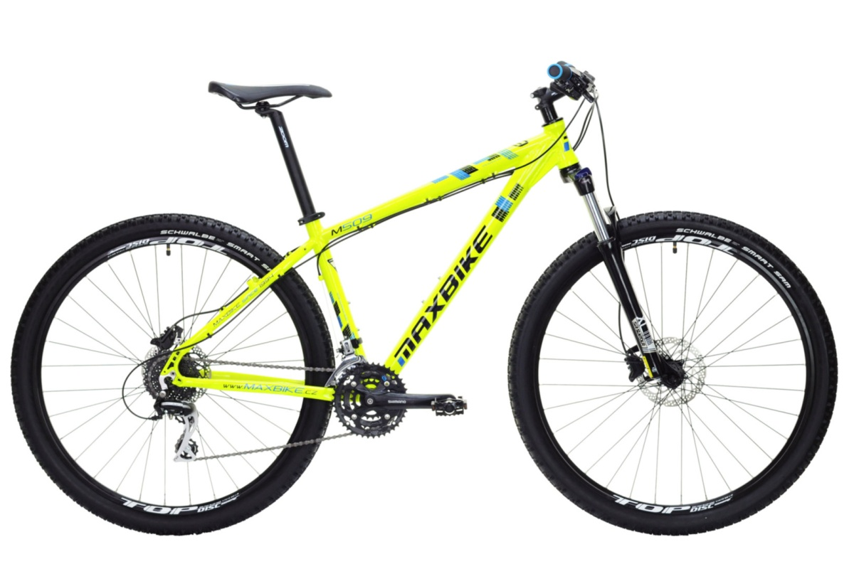 """Horské kolo MAXBIKE Leuser 29 2016 velikost rámu 17"""" - černé"""