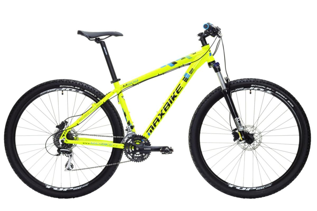 """Horské kolo MAXBIKE Leuser 29 2016 velikost rámu 17"""" - bílé"""
